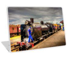 Steam Train K-190 at Maldon Station Laptop Skin