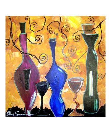 Three Bottles of Vino