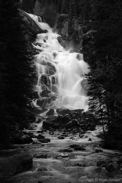 Hidden Falls ~ photography by Elijah Hassler