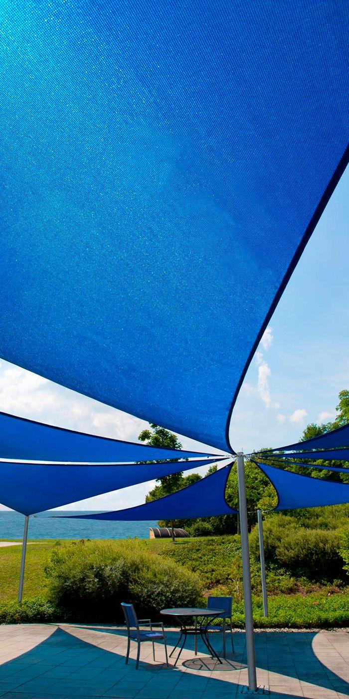 Sonnensegel Home Comfort Von CARAVITA In Verschiedenen Größen Und Farben