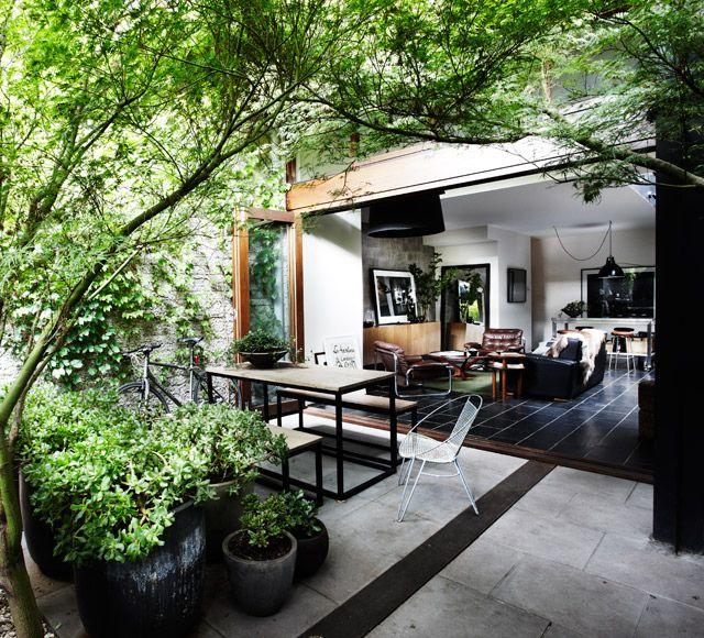 (2) Fancy - BKLYN DESIGNS Patio Bench Table