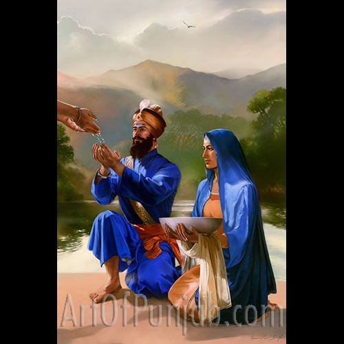 Guru Gobind Singh Maharaj | even an Immortal bends knee to the idea of freedom, justice, and equality