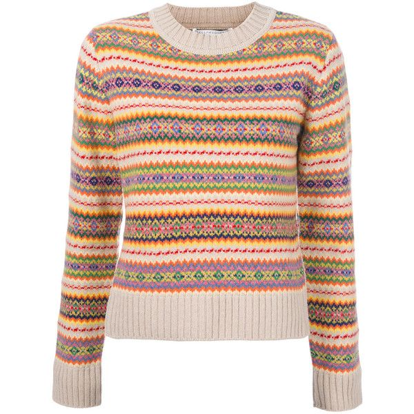Stella McCartney Striped Jumper EUR370 Liked On Polyvore Featuring Tops Sweaters