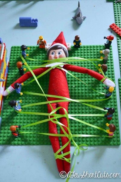 Elf on the shelf idea: Lego revolution