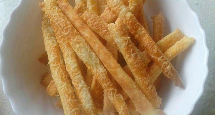 Juhtúrós sajtos rúd recept