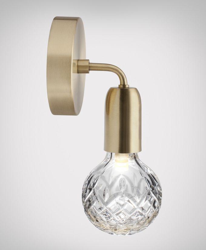 Crystal Bulb Wall Light Wall Lights Brass Wall Light Glass Wall Lights