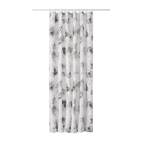 AGGERSUND Rideau de douche IKEA Peut facilement être coupé à la longueur souhaitée.
