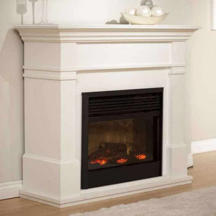 The 25+ best Electric fireplace with mantel ideas on Pinterest ...