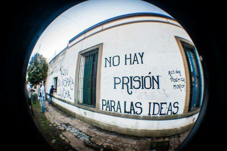no hay prision para las ideas