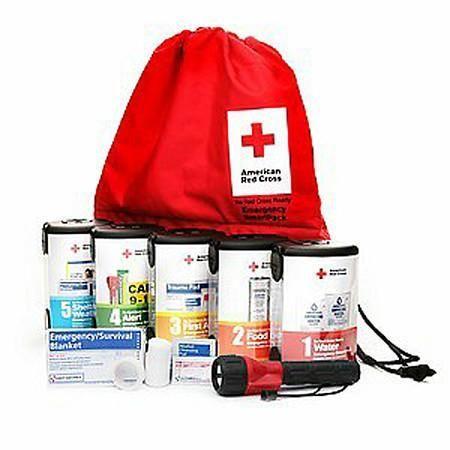 American Red Cross Emergency SmartPack Modular System for Basic Preparedness, First Aid Kit - 1 ea