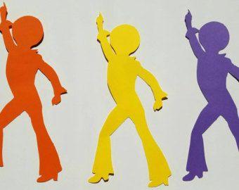 Soul Train Party Cutouts Set of 4 Soul Train Party by partylux