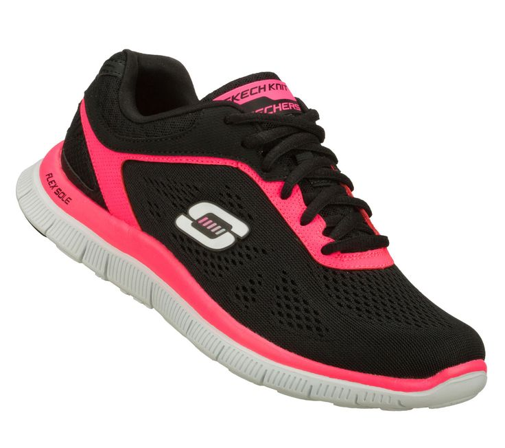 Womens Skechers Love Your Style Flex Appeal Running Memory Foam Trainers HX_7634