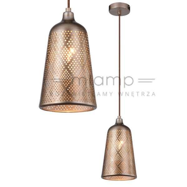 LAMPA wisząca SFINKS 31-43290 Candellux orientalna OPRAWA metalowa marokański ZWIS ażurowy IP20 jasnobrązowy #lampawiszaca #szklanelampy #wystrojwnetrz #nowoczesneoswietlenie #pokojdzienny #salon #modernlighting #modernstyle #crystal #interior #interiorlighting #interiordesign #homedesign #homedecor #rozswietlamywnetrza #mlamp