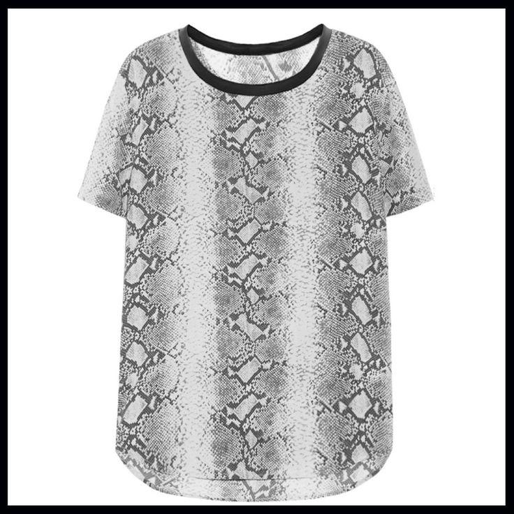 SARTORIAL   Chryssomally    Art & Fashion Designer - Animal print top