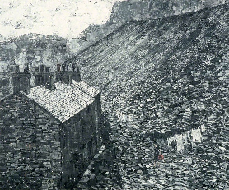 ffestiog, Monday Morning, Wales  by Jonas Plosky        Date painted: c.1967