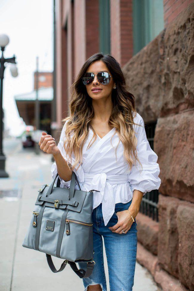 How Fashion Girls Wear Storets's Jordyn Top | StyleCaster