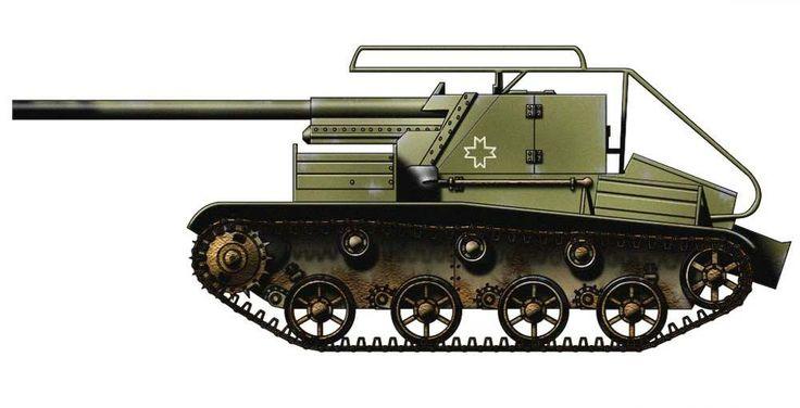 Romania - TACAM T60A Tank Destroyer