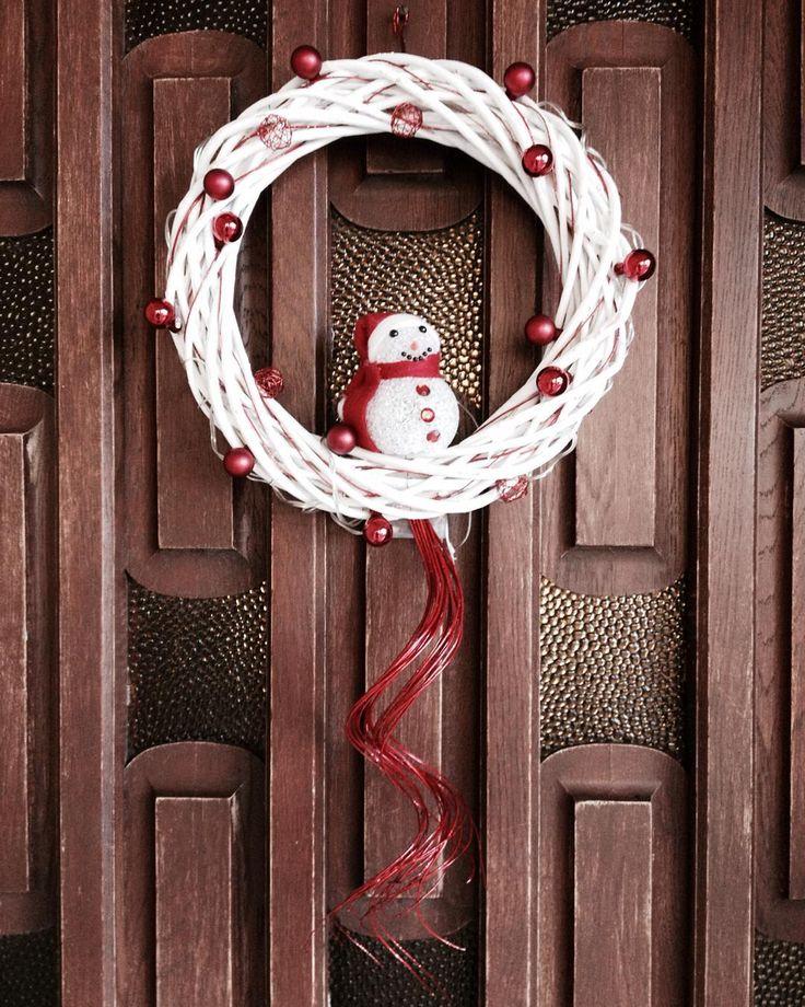 2015 Christmas door wreath