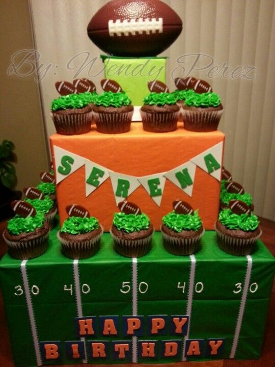 Super Bowl Themed Cakes