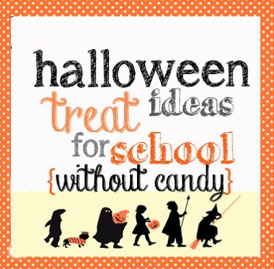 Embellishing Life: halloween favors for school {WITHOUT candy}