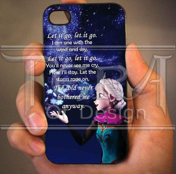 Elsa Frozen Disney Quote design for iPhone 4/4s by TeraOfDesign, $14.99
