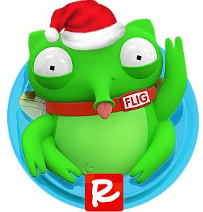 Adventures of Flig Happy Christmas logo https://play.google.com/store/apps/details?id=org.rad.flig #aoflig #fligadventures #Flig #maze #runner #airhockey #indiedev #indiegame #gamedev #game #mobile #android #free #indie #funny #green #followme #nofilter #colorful