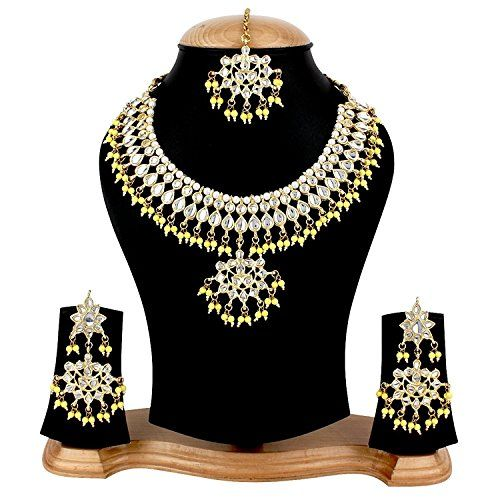 VVS Jewellers Yellow Pearls Indian Bollywood Gold Plated ... https://www.amazon.com/dp/B073VN137Z/ref=cm_sw_r_pi_dp_x_uleAzb9P6V61C