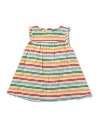 The perfect dress for hot summer days at the beach, frolicking with the breeze in your hair and sand between your toes. From Little Green Radicals @ Modern Rascals in Canada