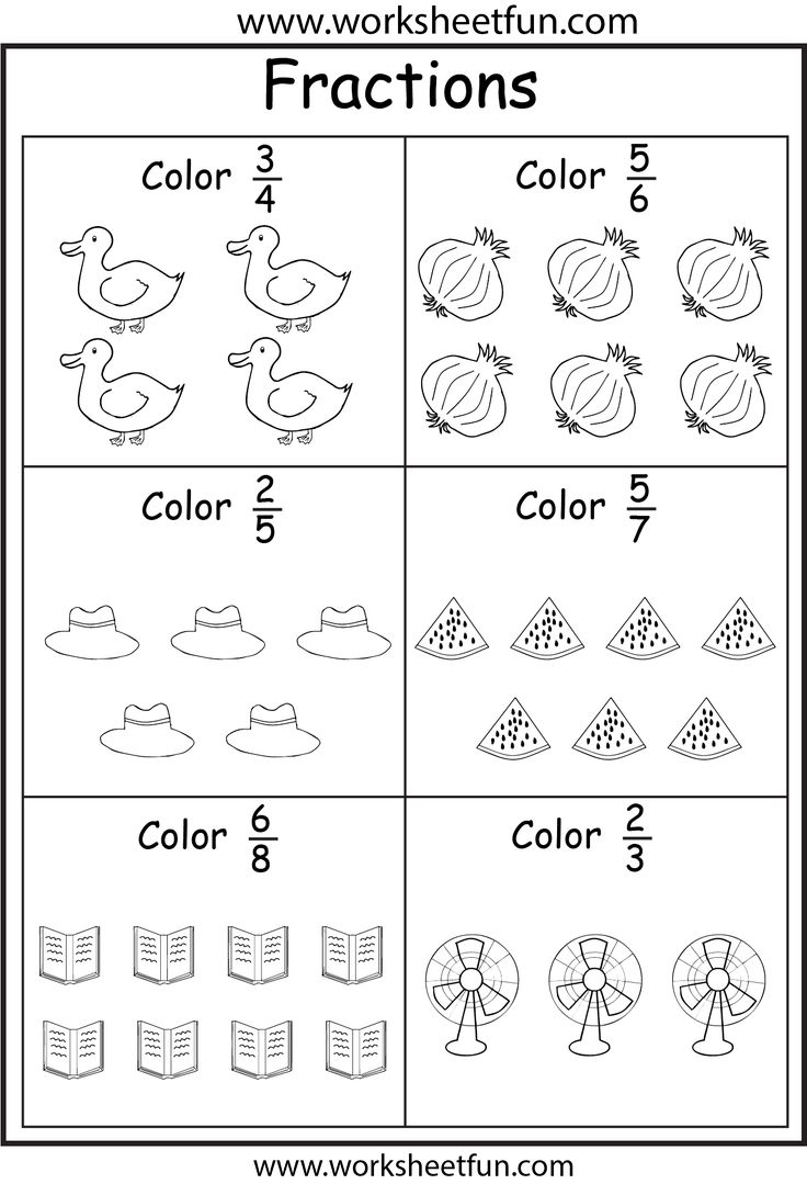 113 best Fractions images on Pinterest | Math fractions, Teaching ...