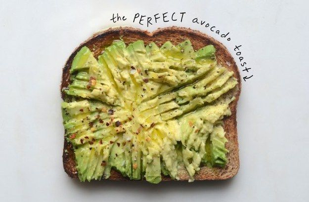 Avocado Toast | 17 Power Snacks Every College Student Should Know