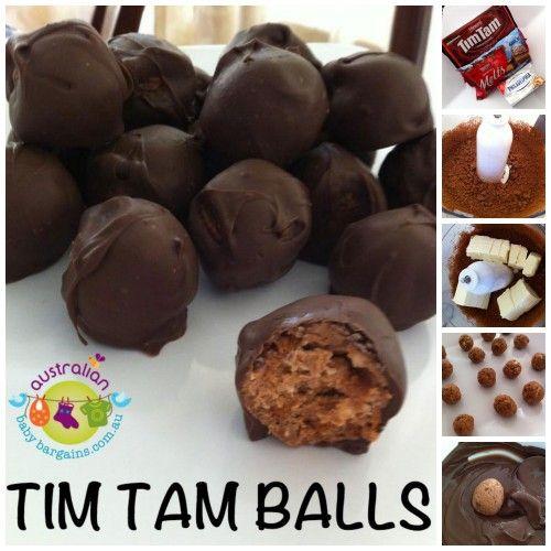 Tim Tam Balls - THE ORIGINAL RECIPE! Download it here: http://www.babybargains.com.au/bels-blog/tim-tam-balls-recipe-of-the-month/