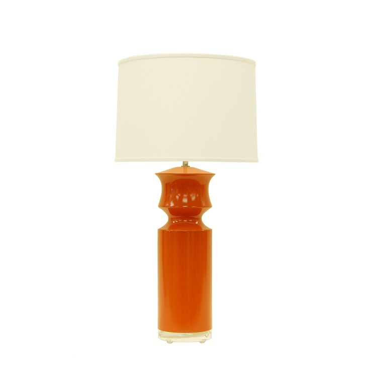 Buy Duke custom color table lamp by Salgado Saucier Inc - Made-to-Order designer Lighting from Dering Hall's collection of Contemporary Mid-Century / Modern Transitional Table Lighting.