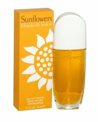 Elizabeth Arden Sunflowers Eau De Toilette For Her 50ml Sunflowers by Elizabeth Arden is sunshine in bottle. This joyous, fresh perfume is a sparkling blend of melon, peach, bergamot, rose and moss and will leave you feeling bright and radiant from head to toe. Perfect for bringing a ray of sunshine to any occasion