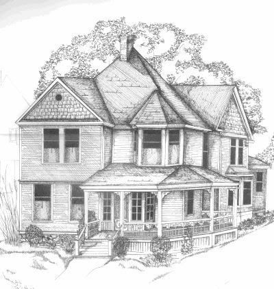 Simple Pencil Drawings of Houses | Mr PencilDRAW - MR PENCIL, COOL PENCILS & DRAWING PENCILS