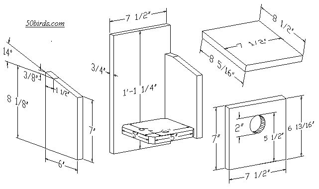 Finch bird house plans print birdhouse plans for specific for American house plans free