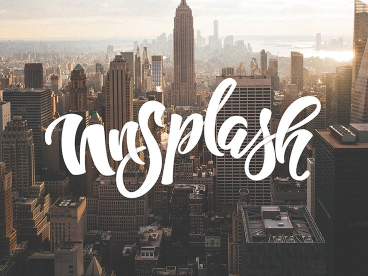 Just wanted to say a thank you and shout out to the guys http://unsplash.com. Their site has been my go to place for amazing photos to put behind my hand lettering and without whom I probably would...