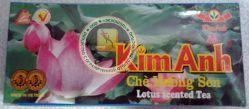 CHE HUONG SEN - Kim Anh - Чай зеленый, с вьетнамским ЛОТОСОМ (натуральный) - 25 пакетиков. ЛОТОСОВЫЙ ЧАЙ. Пр-во Вьетнам.