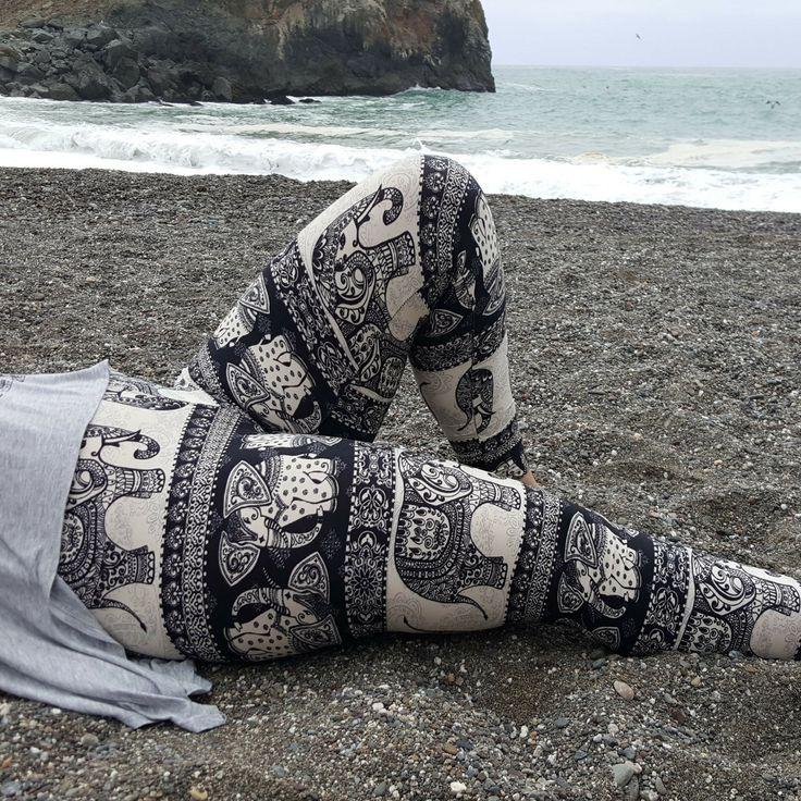 Tribal Elephant Leggings