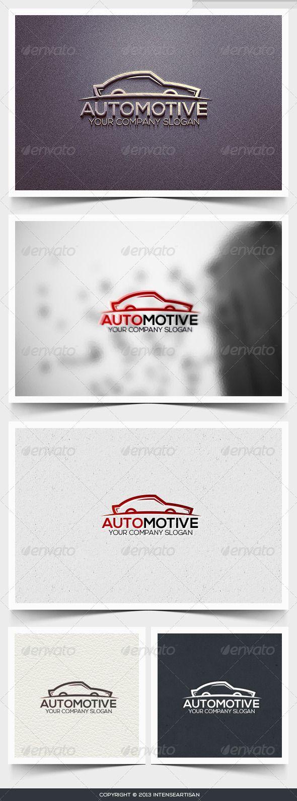 Automotive Logo Template  #GraphicRiver