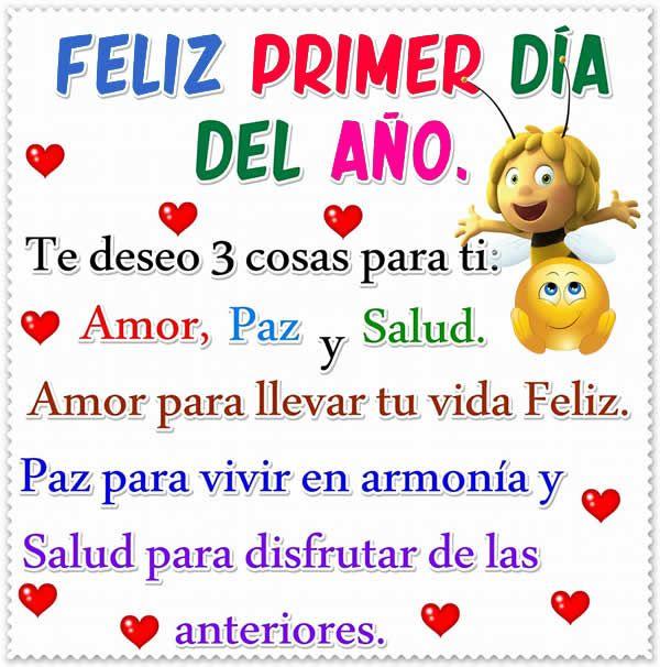 Imagen Feliz Primer Día Del Año Para Enviar Imagenes De Felicidad Feliz Año Nuevo Frases Buenos Dias Con Humor