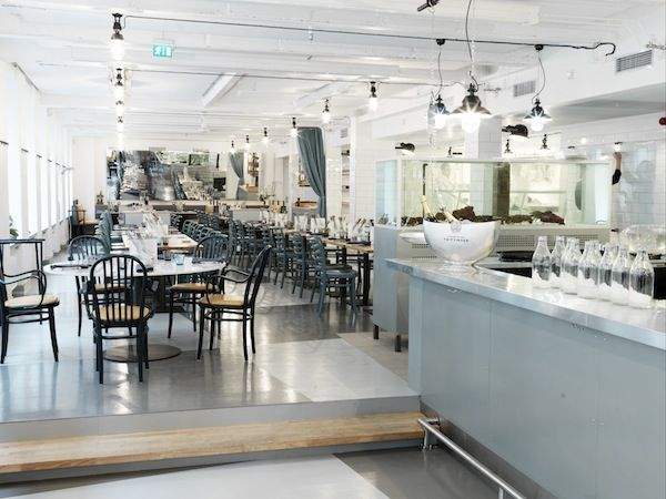 EAT   Restaurang B.A.R. run by the same prized cooks and gastronomic visionaries who started Lux, one of Stockholm's very best restaurants. Restaurang Bar's fish and seafood focused menu is in a much lower pricerange though, and the interiors are minimalist industrial chic with a touch of Parisian bistro. Blasieholmsgatan 4A.