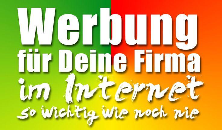 Deshalb ist es wichtig, dass Du Werbung für Deine eigene Arbeit und Dienstleistung im Internet machst.