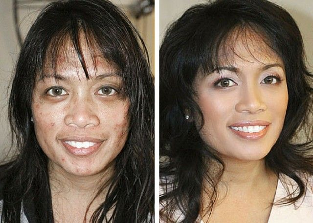 13 Shocking Celebrity Makeup Transformations – Migliori Pagine da