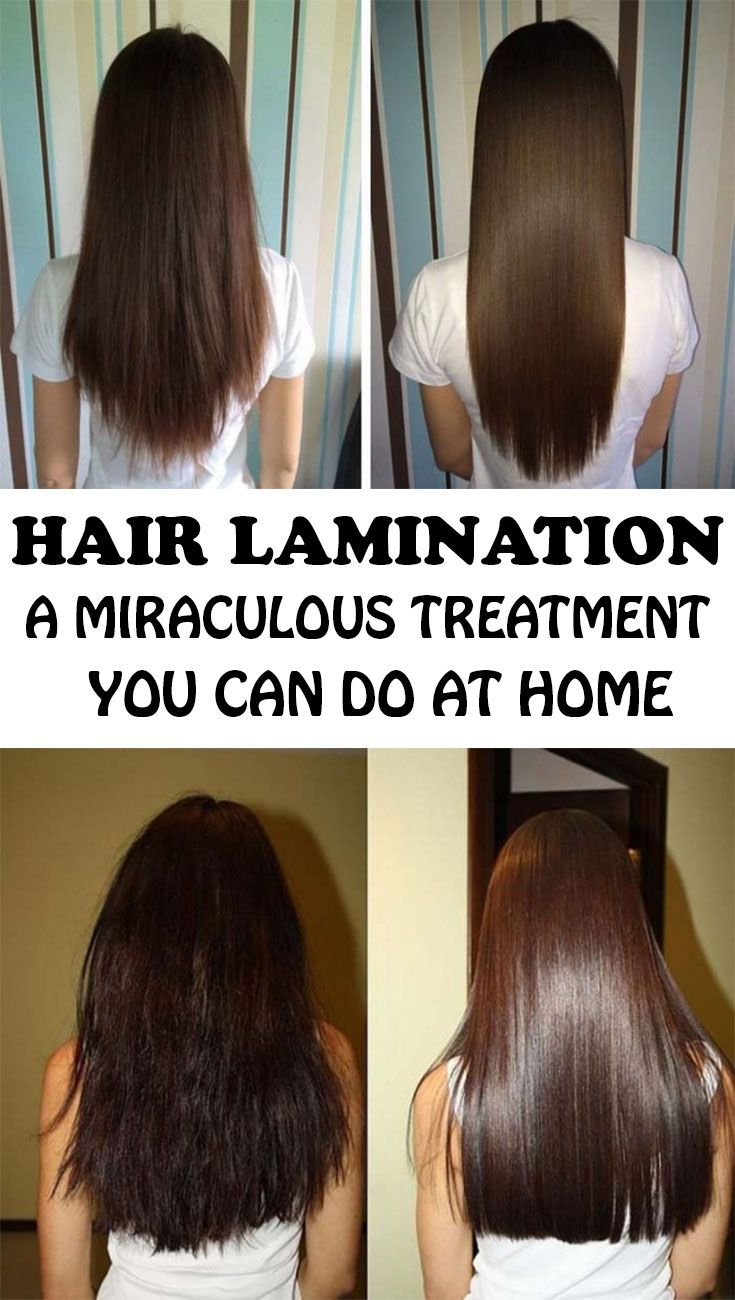 Do you want a strong, healthy and shiny hair? Lamination is the answer! Here's how to do it at home, with amazing results.