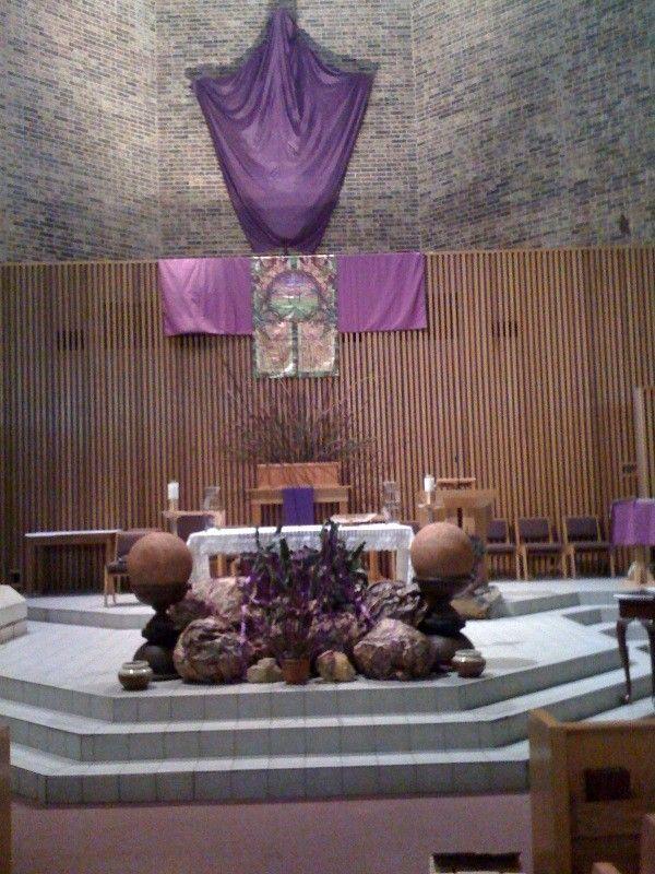 Catholic Church Lent Decorations   Pictures Around Our Parish