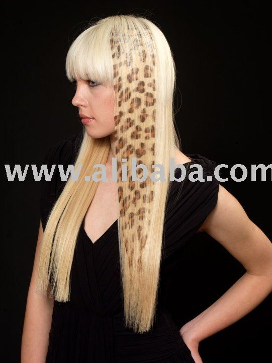 safari hair extension--hair tattoo