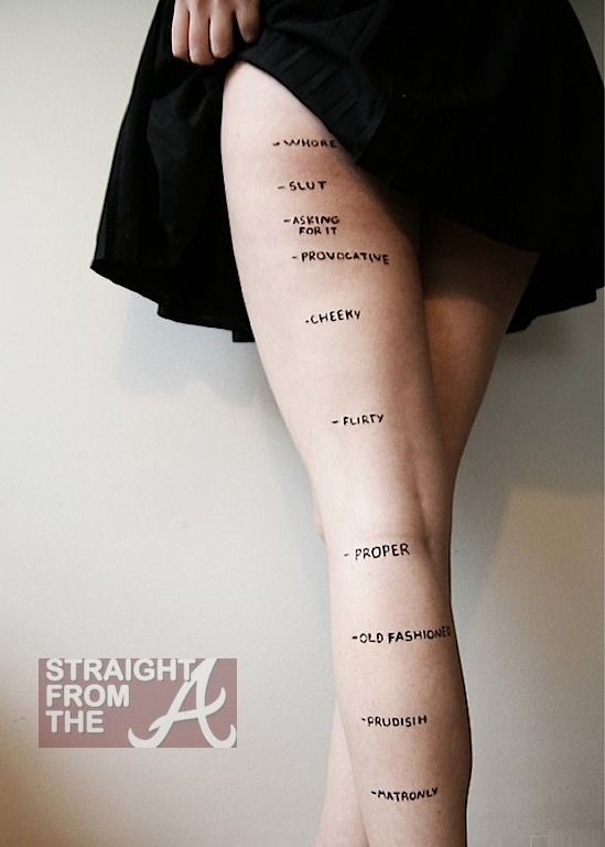 judgments ROSEA LAKE... interesting research about what a skirt length could say about you... humm what do you think?