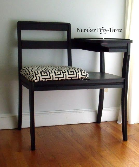 Number Fifty-Three: Upholstered Gossip Bench