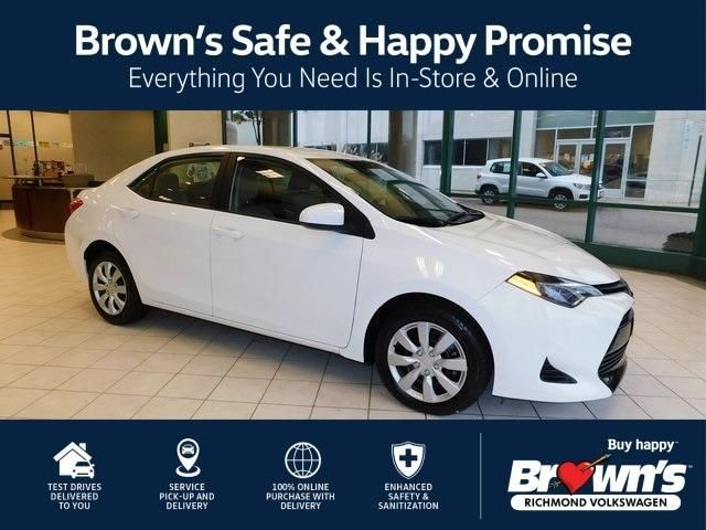 Used 2019 Toyota Corolla Le For Sale At Brown S Volkswagen In Richmond Va For 14 999 View Now On Cars Com Toyota Corolla Toyota Corolla Le Cars Com
