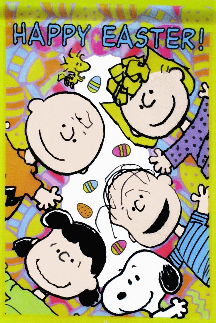 Peanuts- Happy Easter